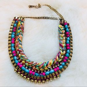 Jewelry - Colorful Braided Necklace